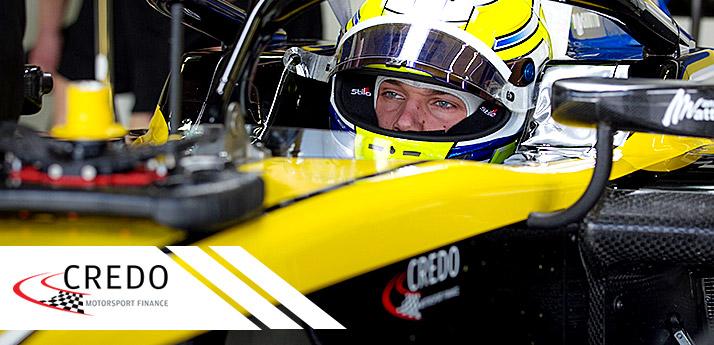 Credo Sponsoring F2 team Virtuosi Racing